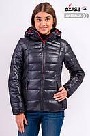Женская зимняя куртка Avecs 7749268 Black наполнитель тинсулейт для суровых зим недорого | Avecs куртка размер