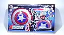 Игровой набор Капитан Америка щит, пистолет, накидка супергероя, фото 2