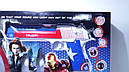 Игровой набор Капитан Америка щит, пистолет, накидка супергероя, фото 4