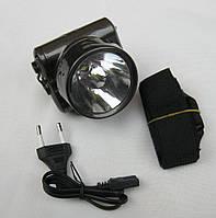 Налобный аккумуляторный фонарик YJ-1829-1-TDN
