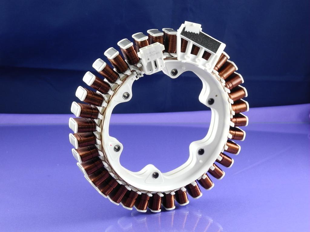 Статор мотора (двигателя) для стиральной машины LG с прямым приводом (AGF76558646)