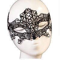Кружевная карнавальная, новогодняя маска PS2552