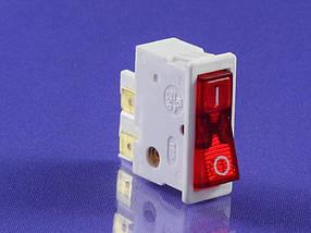 Сетевая кнопка масленного обогревателя универсальная одинарная 16А (Р2-0059)