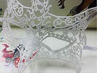 Кружевная карнавальная, новогодняя маска PS2696-02