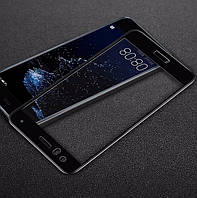 Защитное 3D стекло Huawei P10 Lite Full cover черный 0,26мм в упакzовке