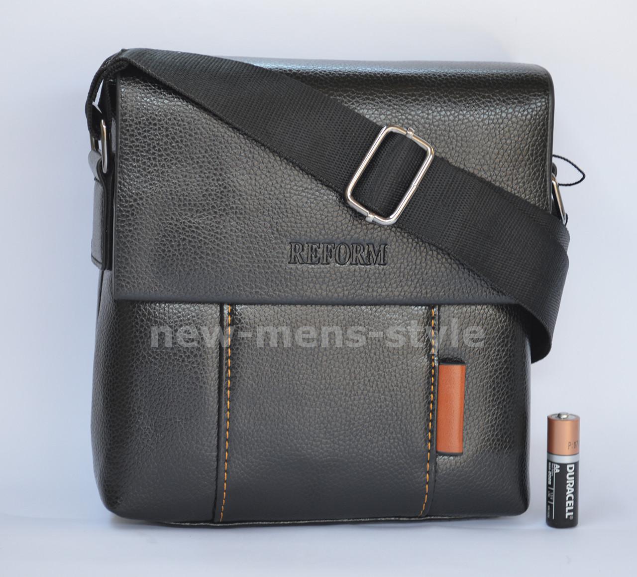 7c5d4642916c Сумка рюкзак барсетка мужская кожаная фирменная под Polo, Jeep REFORM -