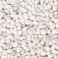 Галька мраморная белая Bianco Carrara 1-4 мм