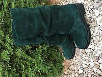Сапоги женские, натуральная замша, зима