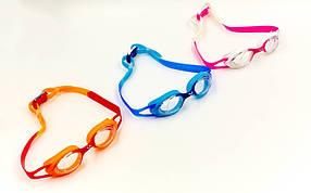 Очки для плавания детские KIDS AR-92376-20 TIGER