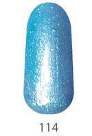 Гель-лак My Nail 9 мл №114 (небесно-голубой с мерцанием)