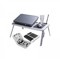 Столик подставка для ноутбука с двумя кулерами-TDN