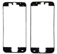 Рамка крепления дисплея черная для iPhone 5C