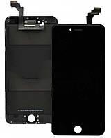 Дисплей iPhone 6 с сенсором (тачскрином) и рамкой, черный, копия