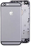 Корпус для iPhone 6 темно-серый, оригинал
