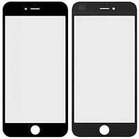 Стекло для iPhone 6 с рамкой и OCA-пленкой черное