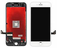 Дисплей iPhone 7 с сенсором (тачскрином) и рамкой, белый, копия