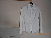 Белая дамская рубашка из хлопка Chrisnina
