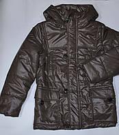 Куртка парка деми на мальчика р-ры 134, 140 ТМ Одягайко, фото 1