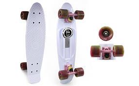 Скейтборд Penny Board SWIRL FISH SK-404-18