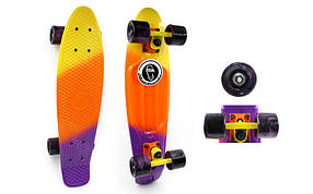 Скейтборд Penny Board FISH SWIRL SK-408-2