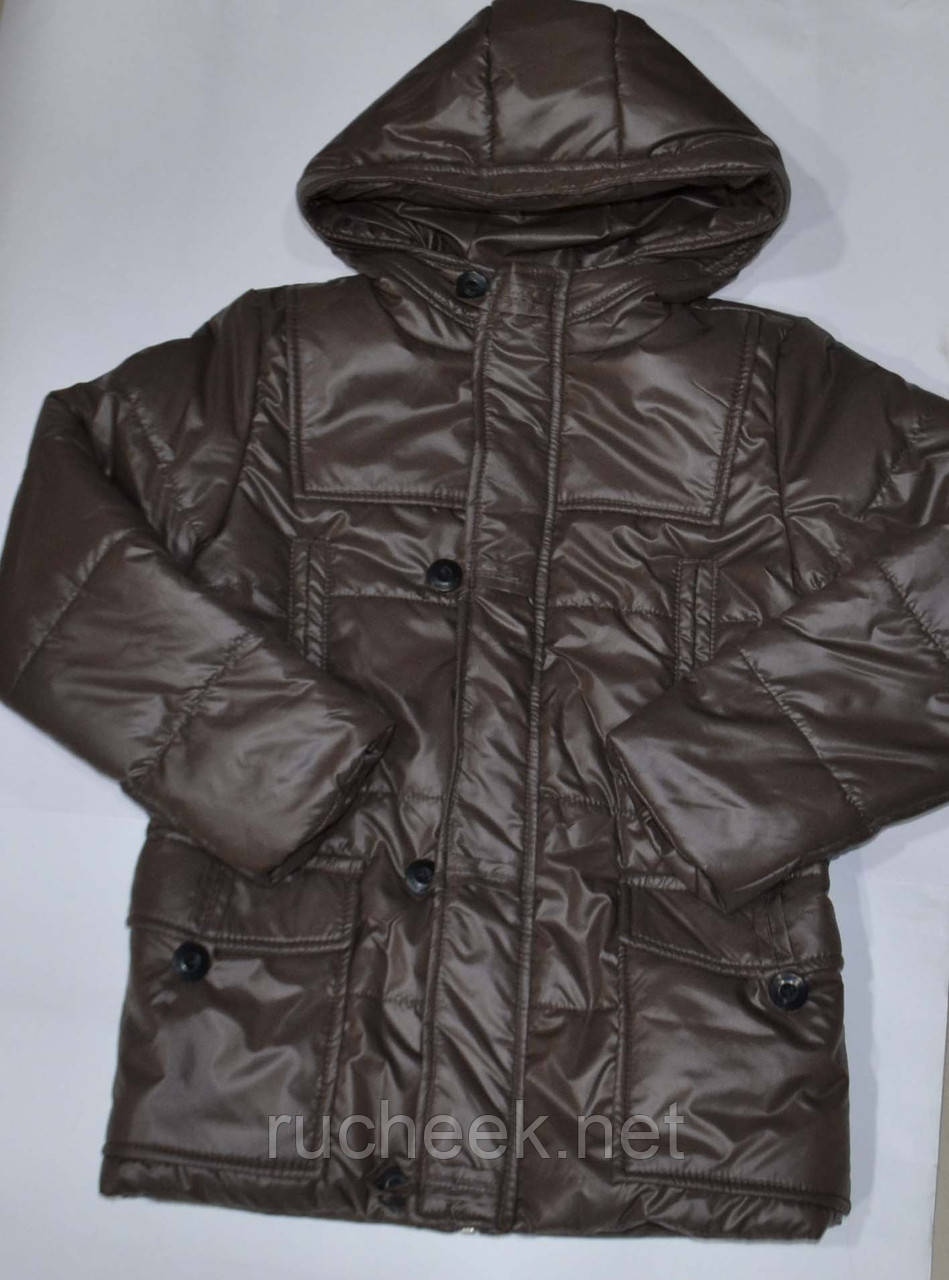 Куртка парка деми на мальчика р-ры 134, 140 ТМ Одягайко ТМ Одягайко, 1