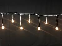Светодиодный мини занавес Айсикл Плей Лайт, бахрома LED  (2метра), фото 1