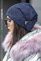 Стильная красивая шапка на зиму 199