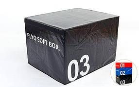 Бокс плиометрический мягкий SOFT PLYOMETRIC BOXES FI-5334-3