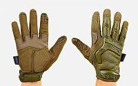 Перчатки тактические с закрытыми пальцами MECHANIX MPACT BC-5622-O