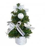 Елка искусственная новогодняя в вазоне 30 см.