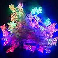 Гирлянда Ёлка 3D LED 40 мульти
