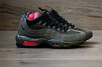 Мужские зимние кроссовки Nike Air Max Sneakerboot 95 Green