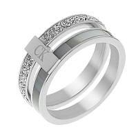 Кольцо женское из стали «Великолепное XIX»