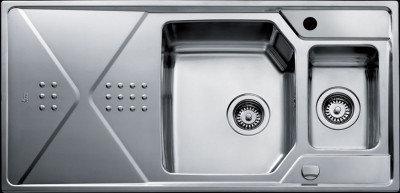 Мойка кухонная TEKA EXPRESSION 1 1/2 B 1D полированная