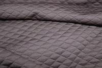 Ткань трикотаж тесненый коричневый