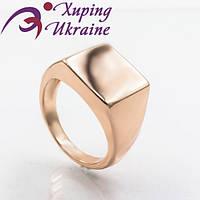 Мужской перстень Xuping позолоченный «Безупречный V»
