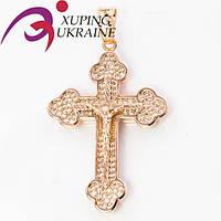 Крестик Позолоченный Xuping «Благославенный XIV»