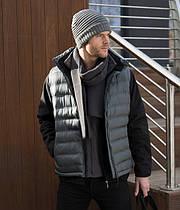 Мужская зимняя жилетка