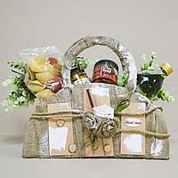 Корзина подарочная с продуктами Casa Rinaldi