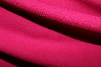 Ткань трикотаж креп дайвинг малина не плотная