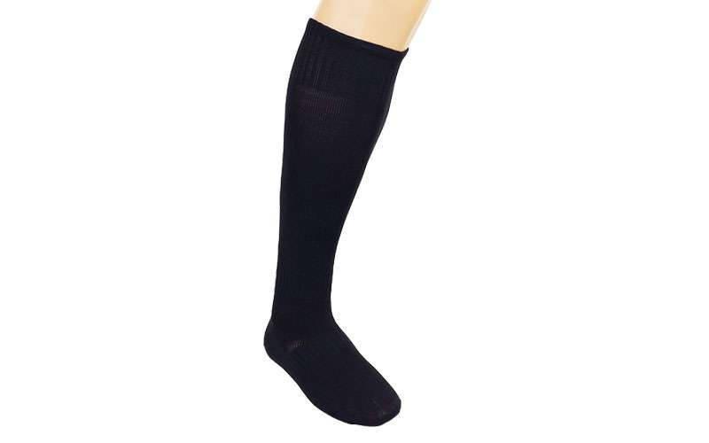 Гетры футбольные взрослые черные CO-5087-BK