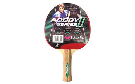 Ракетка для настолького тениса Batterfly Addoy 2 F2, фото 2