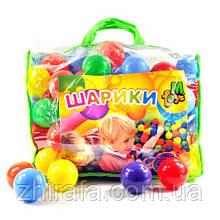 Кульки 01160 для сухих басейнів, 60 мм 100 шт у сумці