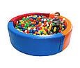 Шарики 01160 для сухих бассейнов, 60 мм 100 шт в сумке, фото 2