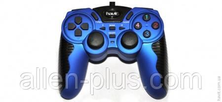 Ігровий Джойстик HAVIT HV-G82 USB+PS2+PS3 blue