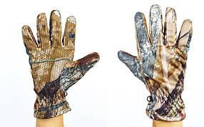 Перчатки спортивные теплые флисовые BC-301-1