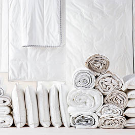 Наматрасники, одеяла, подушки