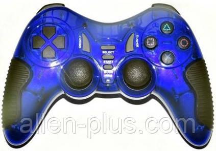Ігровий Джойстик безпровідний HAVIT HV-G89W USB+PS2+PS3 wireless blue