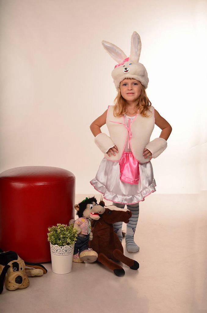 Карнавальный костюм для девочки Зайка