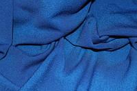 Ткань трикотаж креп дайвинг жаккард синий